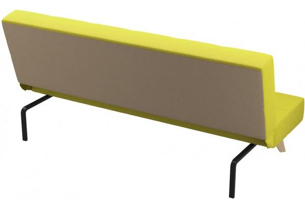 Диван тканевый прямой Касабланка зеленый (Рогожка) - фото 3