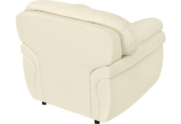 Кресло тканевое Бристоль молочный (Экокожа) - фото 4