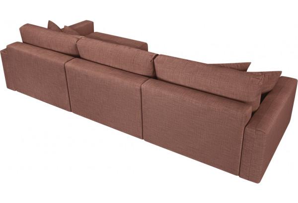 Модульный диван Брайтон вариант №3 розовый (Рогожка) - фото 5