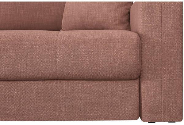 Модульный диван Брайтон вариант №2 розовый (Рогожка) - фото 8