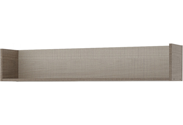 Полка Санди 113 см (крослайн карамель/латте) - фото 1