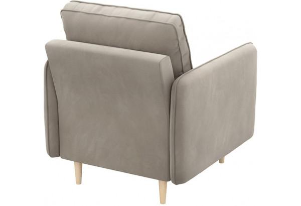 Кресло тканевое Голливуд серый (Велюр) - фото 3