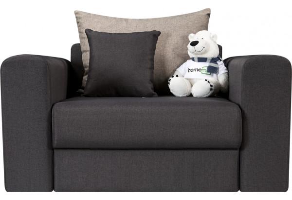Кресло тканевое Медисон Вариант №2 80 см тёмно-серый (Рогожка) - фото 4