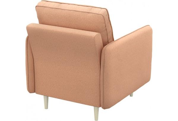 Кресло тканевое Голливуд розовый (Рогожка) - фото 3
