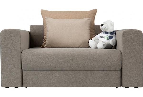 Кресло тканевое Медисон Вариант №1 100 см серый (Рогожка) - фото 4