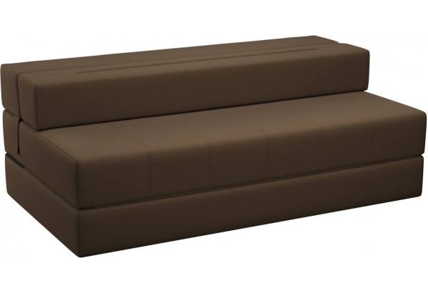 Диван тканевый прямой Форест тёмно-коричневый (Рогожка) - фото 4