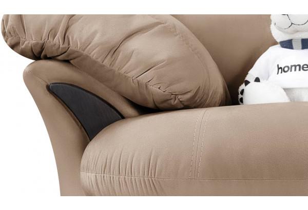 Кресло тканевое Ланкастер коричневый (Велюр) - фото 5