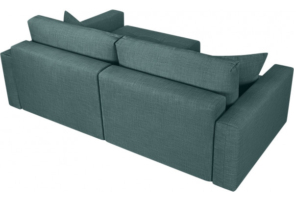 Модульный диван Брайтон вариант №2 голубой (Рогожка) - фото 5