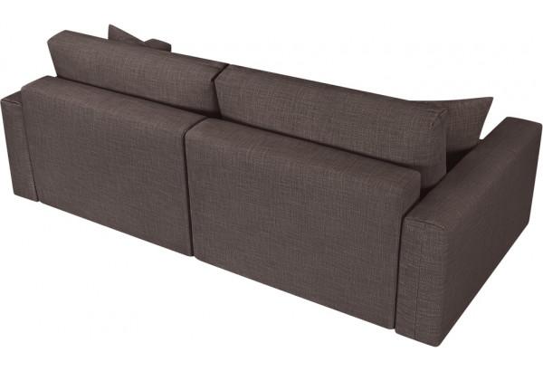 Модульный диван Брайтон вариант №1 графитовый (Рогожка) - фото 5