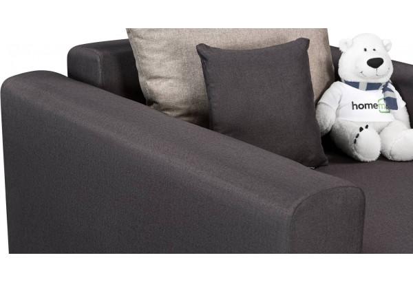 Кресло тканевое Медисон Вариант №2 80 см тёмно-серый (Рогожка) - фото 7