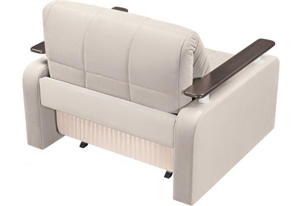 Кресло тканевое Денвер бежевый (Велюр) - фото 3