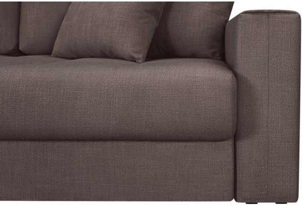 Модульный диван Брайтон вариант №3 графитовый (Рогожка) - фото 9