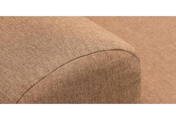 Диван тканевый прямой Медисон Вариант №4 коричневый (Рогожка) - фото 10