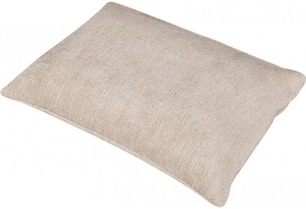 Декоративная подушка Медисон 60х45 см бежевый (Шенилл) - фото 2