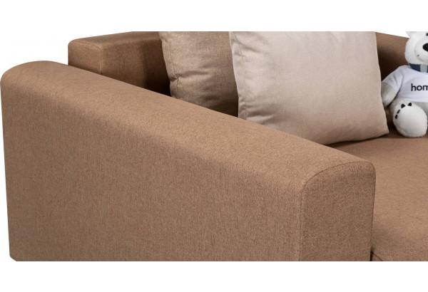 Кресло тканевое Медисон Вариант №1 100 см коричневый (Рогожка) - фото 9