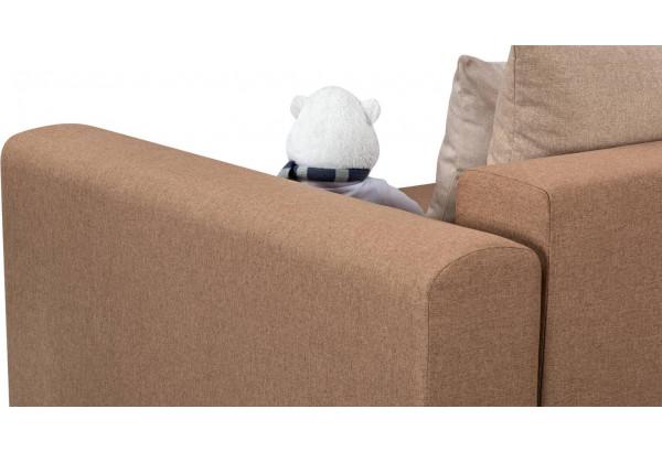 Кресло тканевое Медисон Вариант №1 100 см коричневый (Рогожка) - фото 8