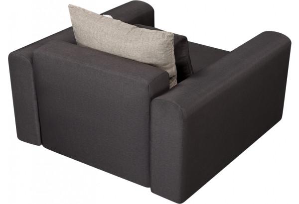 Кресло тканевое Медисон Вариант №2 80 см тёмно-серый (Рогожка) - фото 5