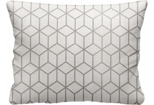 Декоративная подушка Портленд 60х48 см вариант №2 серый (Жаккард) - фото 1