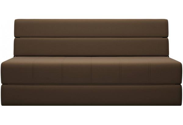 Диван тканевый прямой Форест тёмно-коричневый (Рогожка) - фото 2