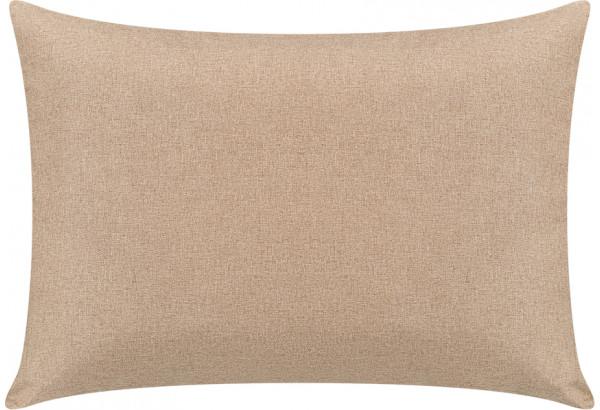 Декоративная подушка Медисон 75х55 см темно-бежевый (Рогожка) - фото 1