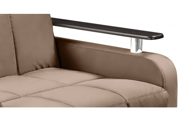 Кресло тканевое Денвер коричневый (Велюр) - фото 8