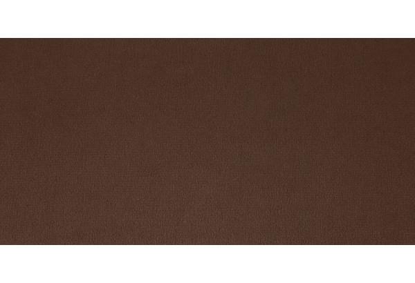 Диван тканевый прямой Ланкастер темно-коричневый (Велюр) - фото 6