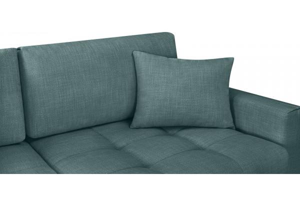Модульный диван Брайтон вариант №1 голубой (Рогожка) - фото 7