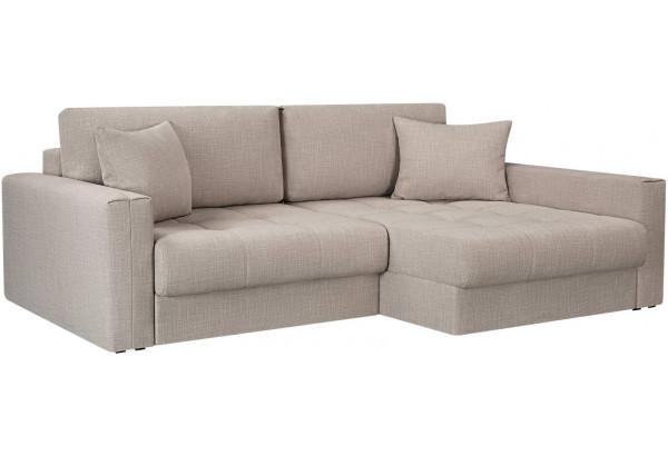 Модульный диван Брайтон вариант №2 бежевый (Рогожка) - фото 1
