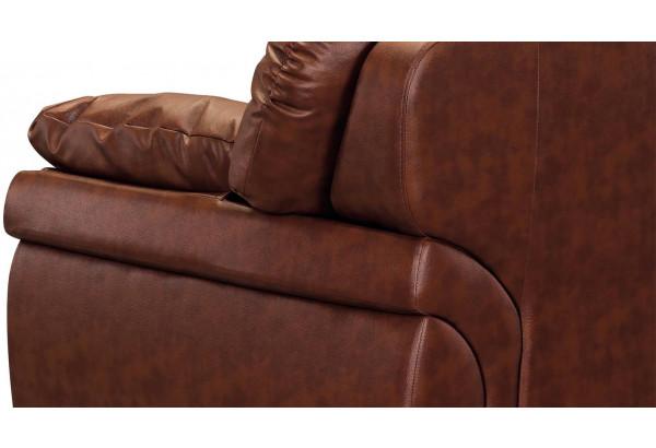 Кресло кожаное Бристоль Коричневый (Кожаное изделие) - фото 7