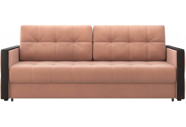 Диван тканевый прямой Валенсия-1 розовый (Велюр) - фото 2