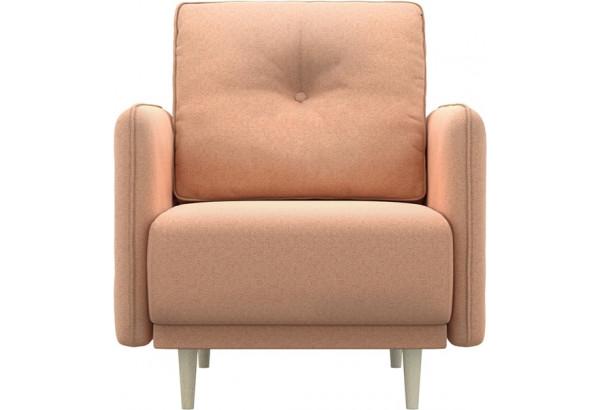 Кресло тканевое Голливуд розовый (Рогожка) - фото 2