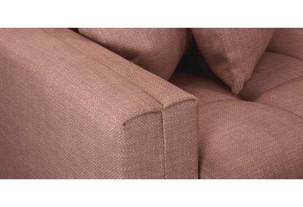 Модульный диван Брайтон вариант №3 розовый (Рогожка) - фото 9