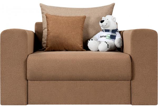 Кресло тканевое Медисон Вариант №2 80 см коричневый (Рогожка) - фото 4