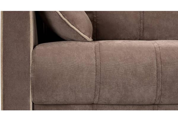 Диван тканевый прямой Римини темно-коричневый (Вельвет) - фото 9