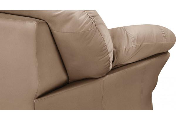 Кресло тканевое Ланкастер коричневый (Велюр) - фото 6