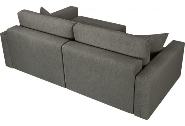 Модульный диван Брайтон вариант №2 серый (Рогожка) - фото 5