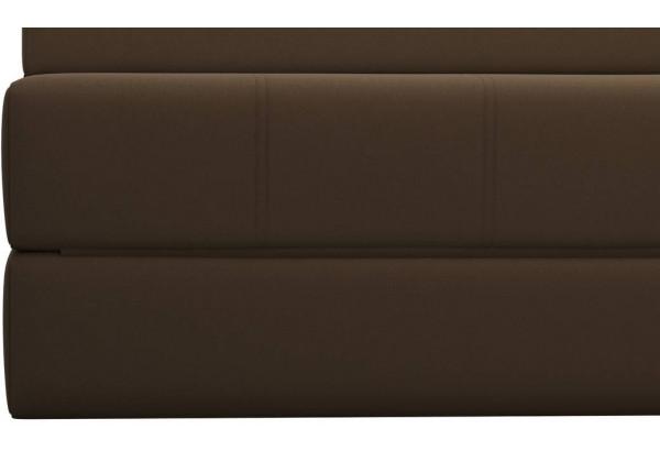 Диван тканевый прямой Форест тёмно-коричневый (Рогожка) - фото 7