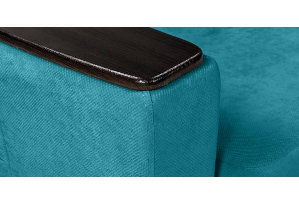 Кресло тканевое Майами бирюзовый (Велюр) - фото 10