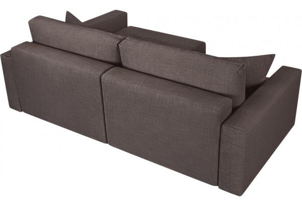 Модульный диван Брайтон вариант №2 графитовый (Рогожка) - фото 5