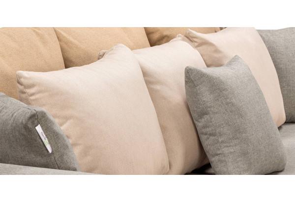 Диван тканевый прямой Медисон Вариант №4 серый (Рогожка) - фото 10