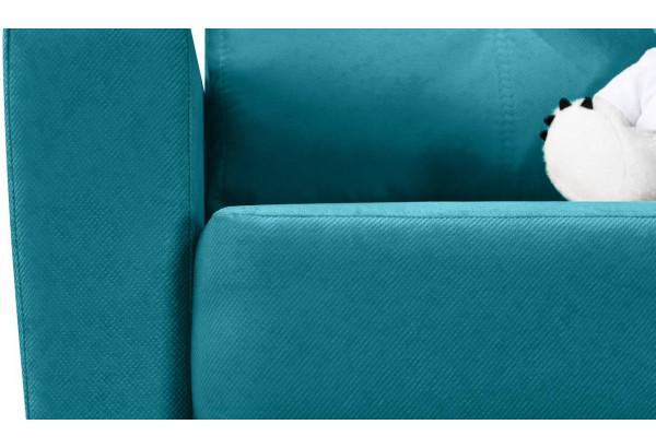 Кресло тканевое Майами бирюзовый (Велюр) - фото 7