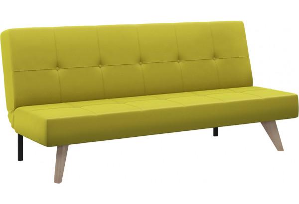 Диван тканевый прямой Касабланка зеленый (Рогожка) - фото 1
