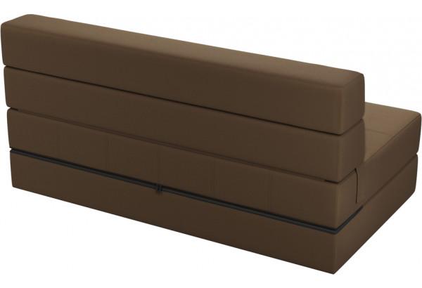 Диван тканевый прямой Форест тёмно-коричневый (Рогожка) - фото 3