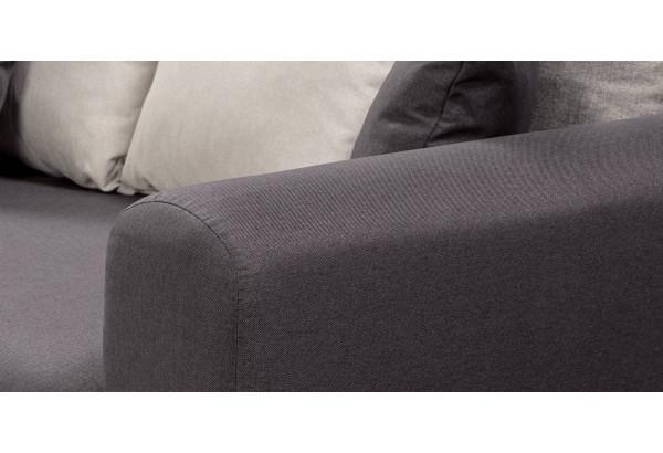 Диван тканевый прямой Медисон Вариант №4 темно-серый (Рогожка) - фото 6
