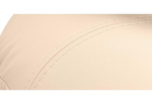 Диван кожаный угловой Ланкастер Бежевый (Кожаное изделие, левый) - фото 10