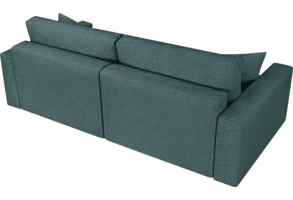 Модульный диван Брайтон вариант №1 голубой (Рогожка) - фото 5