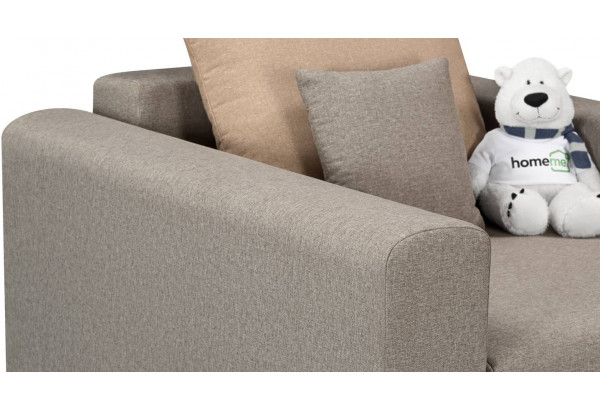Кресло тканевое Медисон Вариант №2 80 см серый (Рогожка) - фото 7