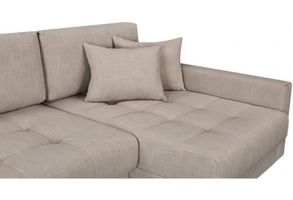 Модульный диван Брайтон вариант №3 бежевый (Рогожка) - фото 7