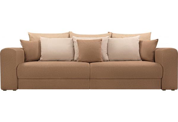 Диван тканевый прямой Медисон Вариант №4 коричневый (Рогожка) - фото 4