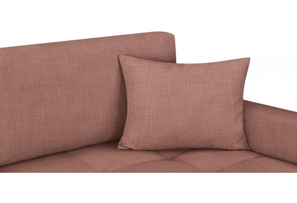 Модульный диван Брайтон вариант №2 розовый (Рогожка) - фото 7